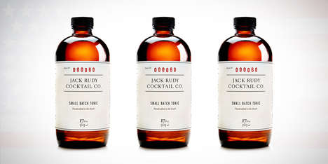 Handcrafted Cocktail Syrups - The Jack Rudy Cocktail Co Create a Distinguished Line of Bar Staples
