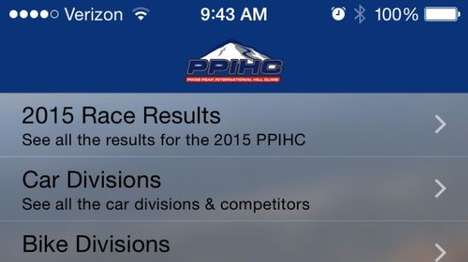 Hill Climb Driving Apps - The Pikes Peak International Hill Climb App Offers Customized Information