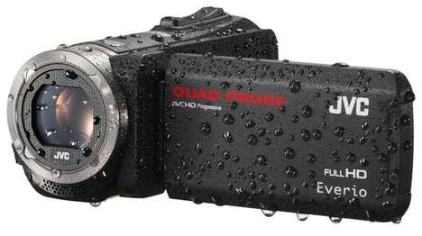 Ultra-Resilient Cameras - The JVC Everio GZ-R450 Can Handle Dust, Water and Freezing Temperatures