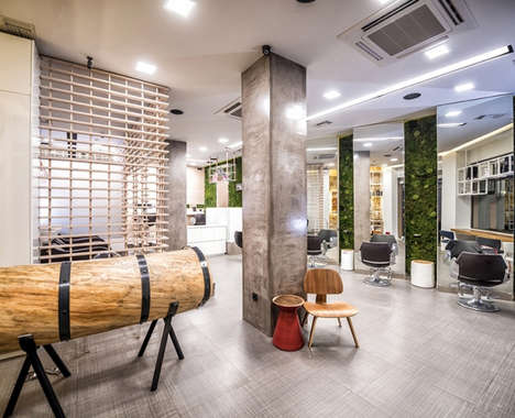 Modern Rainforest Salons