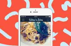 Food-Centric Photo Apps - The 'Wine 'N Dine' App is Exclusively for Sharing Pictures of Food