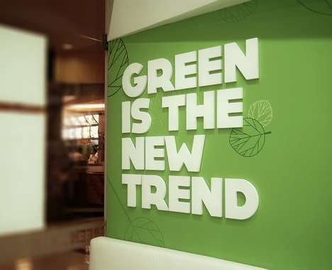 Green-Toned Eateries