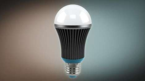 Sunlight-Mimicking Lightbulbs - The Silk LED Lightbulb Accurately Mimics Natural Sunlight