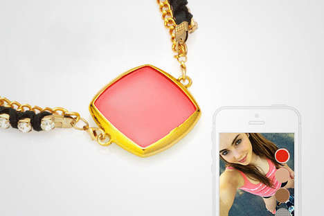 Color-Shifting Jewelry - This Line of Smart Jewelry Can Be Customized Through a Mobile App