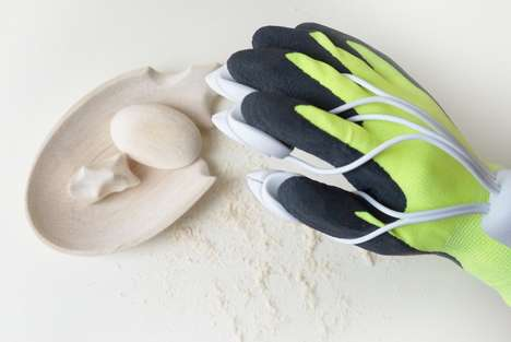 Bionic Sculpting Gloves - This Carving Glove Allows Users to Intricately Carve Wood & Stone