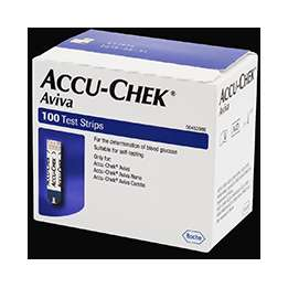 At-Home Glucose Kits - The Accu-Chek Aviva Blood Meter Lets Diabetics Keep Track of Sugar Levels
