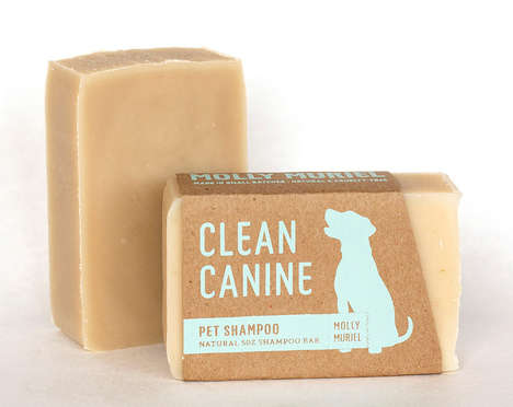 Vegan Pet Soaps - 'Clean Canine' is a Cruelty-Free Organic Dog Shampoo
