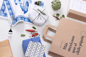 Seis Chiles is a Mexican Eatery Boasting Vibrant Blue Branding