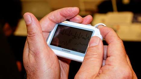 Handheld Medical Readers - The Viatom CheckMe is Targeted Towards Both Clinical and Home Use