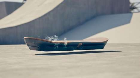 Futuristic Hoverboards - The Lexus Hoverboard Will Starr in the 'Amazing in Motion' Ad Campaign