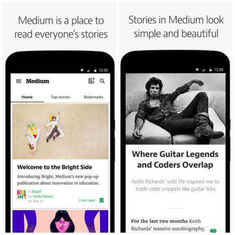 Beautiful Reading Apps (UPDATE) - Medium for Android is Officially Available at Google Play