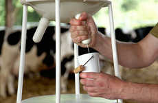 Udder-Mimicking Milk Dispensers