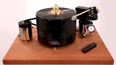 Affordable Audiophile Turntables - The Walker Audio Turntable Makes Quality Disc-Spinning Accessible