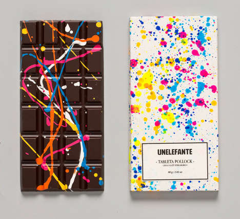 45 Examples of Unusual Candy Bars - From Chip-Infused Chocolates to Bean-Flavored Chocolate Bars