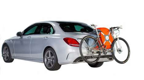Inflatable Bike Racks - The TrunkMonkey Bicycle Rack is Easy to Haul Around