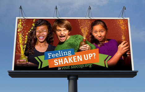 Child Abuse Prevention Ads - These Child-Like 'Shaken Up?' Ads Appeal to Children's Vulnerability
