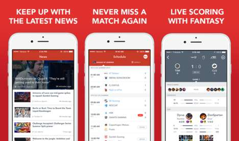 Pro Sporting News Apps - This App Provides News and Updates From Competitive Gaming Leagues