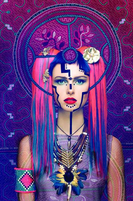 Surreal Shamanism Editorials - The 'Visionary Art Project' Seeks to Combine Fashion & Spirituality