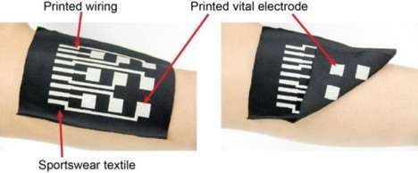 Electronic Inked Apparel - Versatile Conductive Ink Was Developed for High End Electronic Apparel