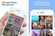 Millennial Lifestyle Platforms - The Bustle Mobile App Appeals to Female Pop Culture Fans