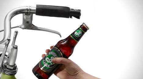 Handlebar Bottle Openers - The 'Pub-Nub' is a Handy Bike-Mounted Bottle Opener