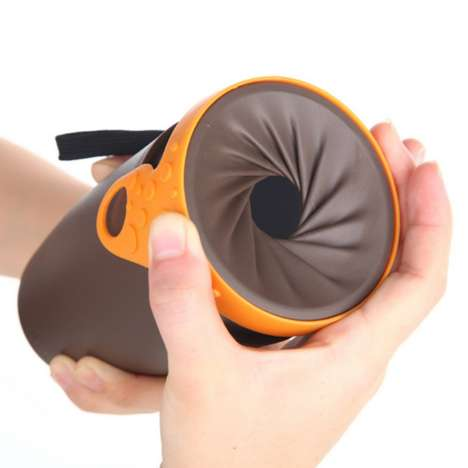 Leak-Proof Travel Mugs - The Twist Lid Drink Traveller Boasts a Uniquely Secure Closure System