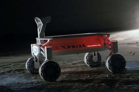 Luxury Car Rovers - Audi Will Consult 'Part-Time Scientists' on an Unmanned Rover Project