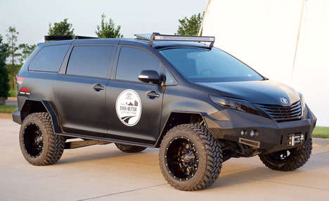 Off-Road Family Cars - The Toyota Ultimate Utility Vehicle is Made For a North American Trek