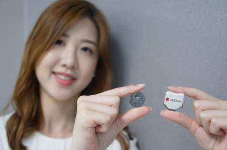 Hexogonal Watch Batteries - The LG Chem Smartwatch Battery Will Instantly Increase Charge Length