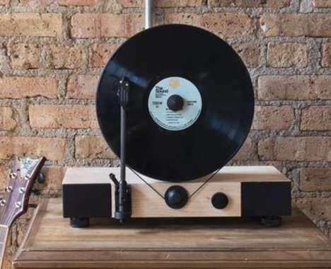 Vertical Vinyl Players