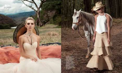 Dreamy Wedding Editorials - Bazaar Latin America's Latest Issue Stars Model Emily Sanko