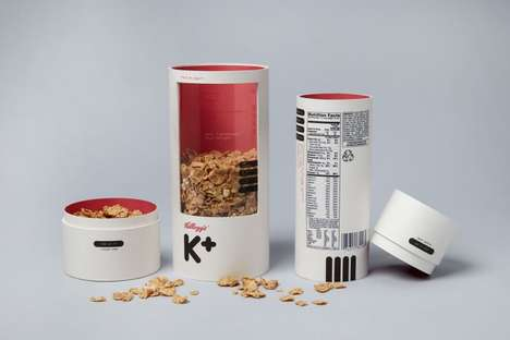 Redesigned Cereal Boxes - The Kelloggs Special K Package is Reimagined by Designer Mun Joo Jane