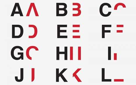 Dyslexia-Inspired Typography - Daniel Britton Designs a Font Capturing What Its Like to be Dyslexic
