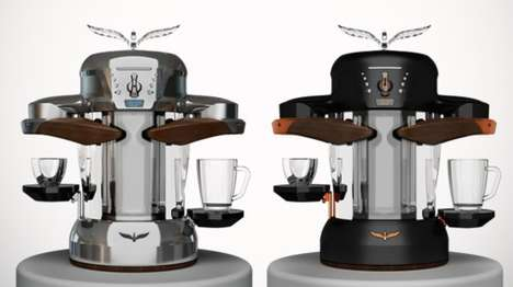 25 Contemporary Coffee Machines - From Wood Block Brewers to Smart Artisan Coffeemakers