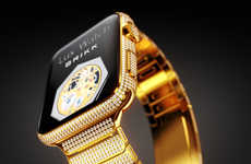 Luxurious Diamond Smartwatches