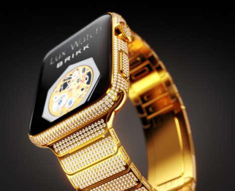 Luxurious Diamond Smartwatches