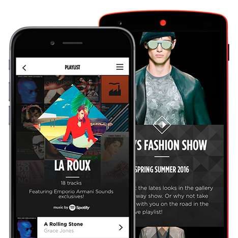High-Fashion Music Apps - This New App Provides Music and Fashion Inspiration