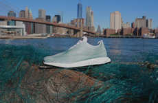 These Stylish Kicks are Made Entirely Out of Ocean Plastic Trash