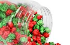 Oh Nuts' Christmas Popcorn Features Red and Green Bites