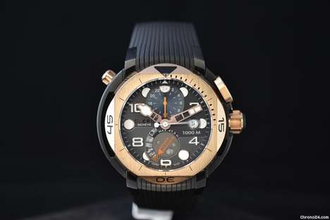 Luxury Dive Watches - The CLERC Hydroscaph GMT Power-Reserve is a Peerless Exploration Machine