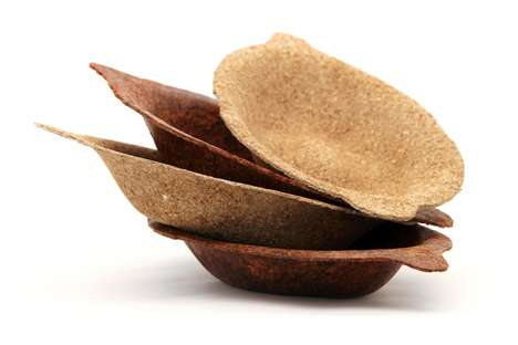Biodegradable Bowls - This Line of Stylish and Functional Tableware is Made from Food Waste