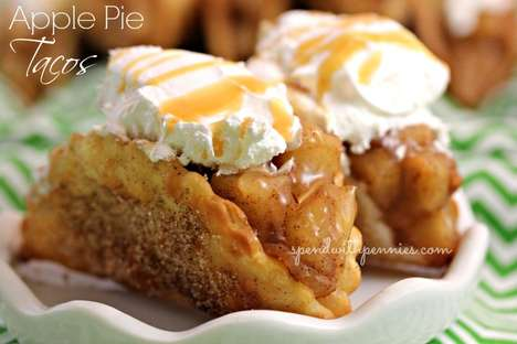 Apple Pie Tacos - This Recipe Puts a Mexican Twist On an American Favorite