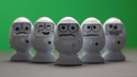 Egg-Shaped Social Toys - Grumblies are Smart, Social Tech Toys That Interact with Kids & Devices