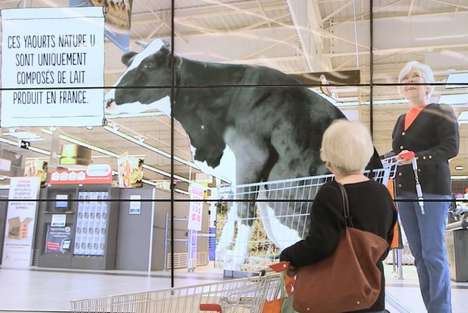 Food Origins-Exposing Ads - 'System U' Grocers Created Video Ads of Food Origins in Supermarkets