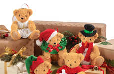 Teddy Bear Tree Trimmings - Vermont Teddy Bear's Stuffed Animal Ornaments are Compact and Charming
