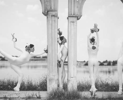 Urban Ballerina Portraits