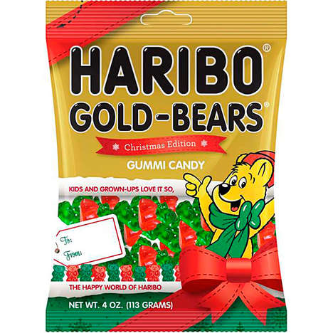 Christmas Edition Gummy Bears - These Haribo Christmas Gummy Bears Are Delightfully Festive