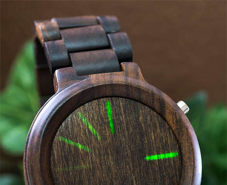 Wooden LED Watches