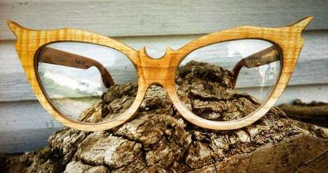Pedal-Powered Eyewear - These Sustainable Sunglasses are Made Using Pedal-Power and Recycled Wood