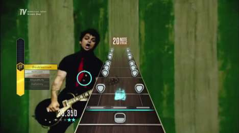 Live Music Games - The Guitar Hero Live Music Streaming Service Supplies Fresh Content to Players